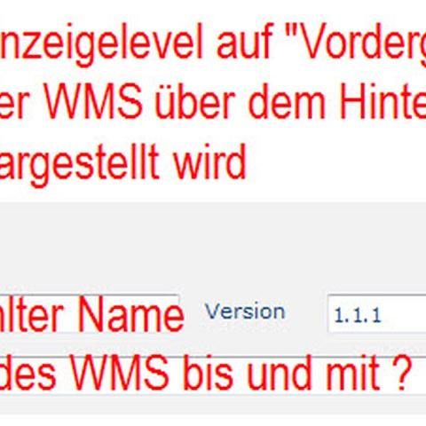 ZugMap.secure: WMS definieren und laden