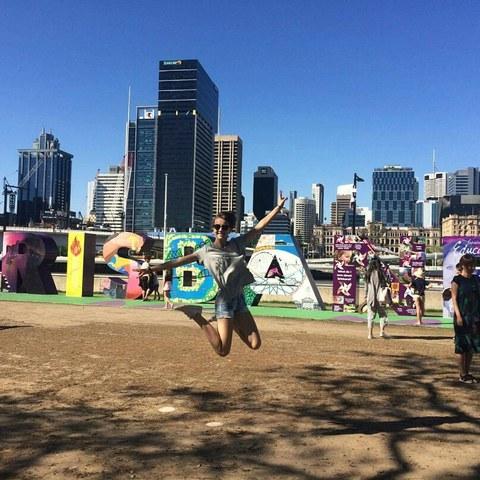 2016 Leonie: Aufenthalt in Brisbane (Australien)