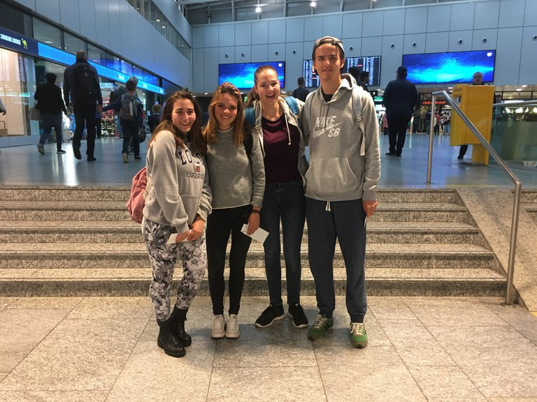 Fremdsprachenaufenthalt 2016: Abreise nach Newcastle