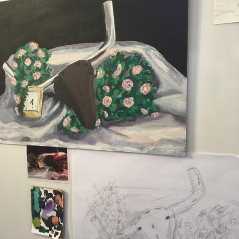 Malerei 2018