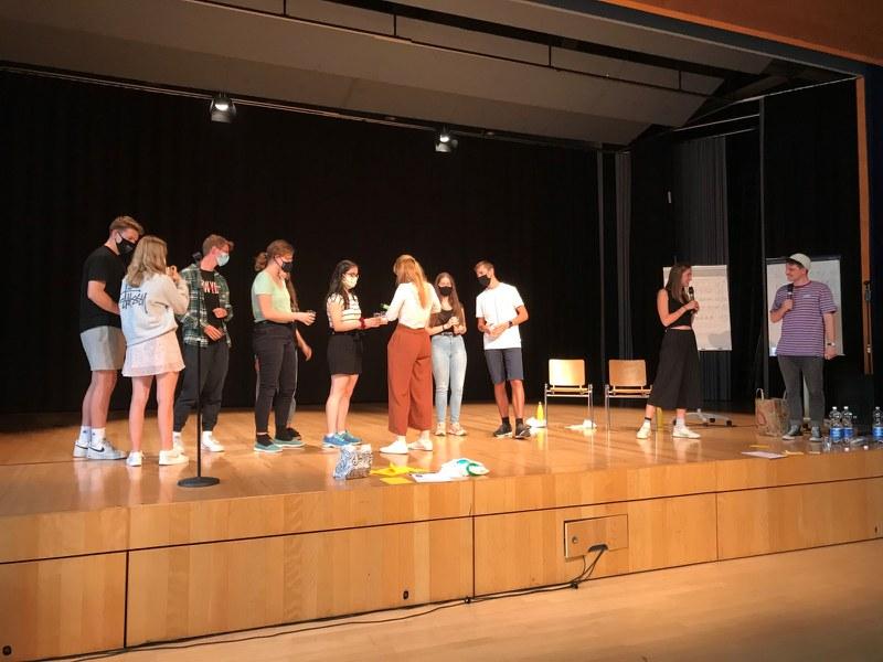 Poetry-Slam Halbfinal, Siegerehrung