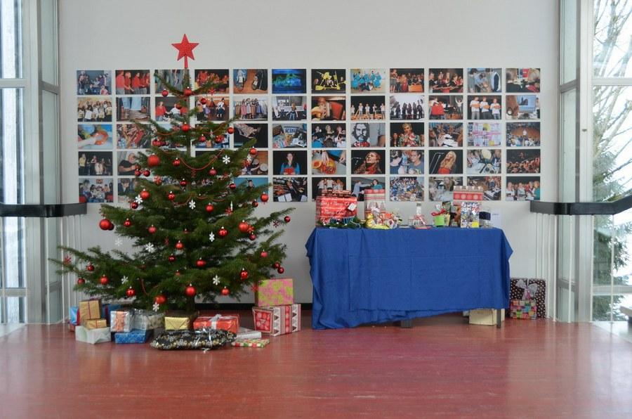 Weihnachtsfeier an der KSM