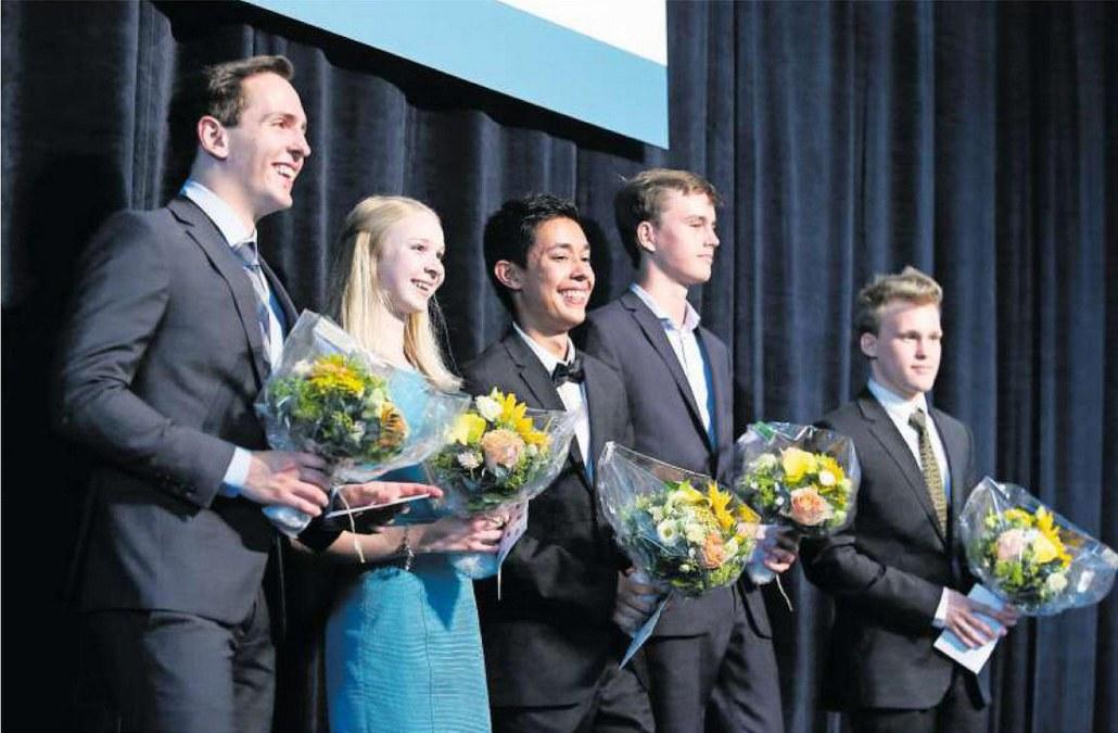 Die fünf besten Absolventen der Kantonsschule Zug