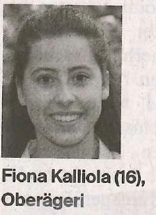 Fiona Kalliola, Kampfsportlerin