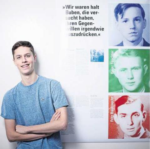 Textblock: Sie boten den Nazis mutig die Stirn