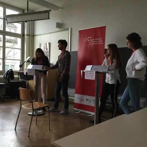 Benjamin Gantner als Zweiter von links (Foto Florian Horschik)