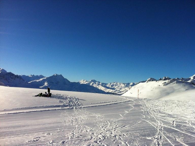 Schneesport Lager der Kanti