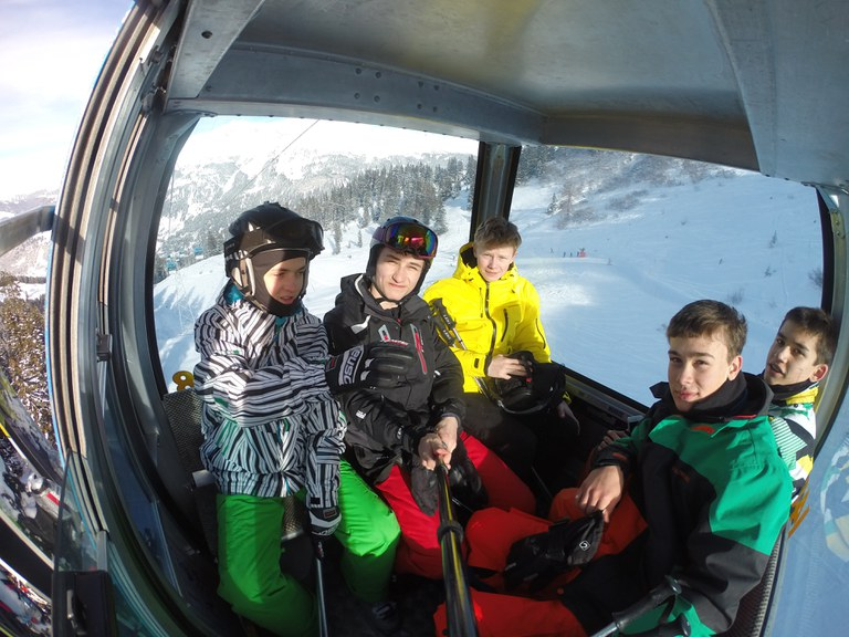 Schneesportlager der Kanti