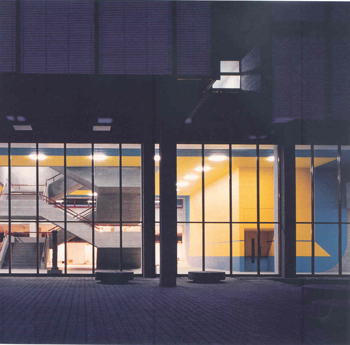 Georg Karl Pfahler - Kunst am Bau - Eingangshalle