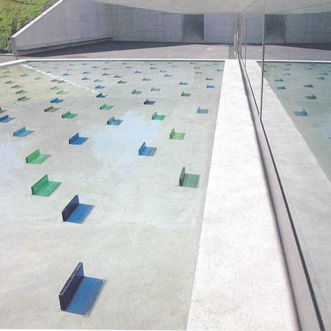 Elisabeth Arpagaus - Kunst am Bau, Wasserbecken - Gebäude 9