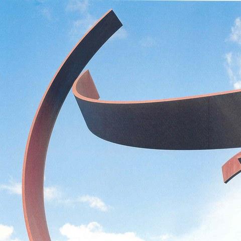 Paul Suter - Caribu, Eisenplastik - beim Pausenplatz