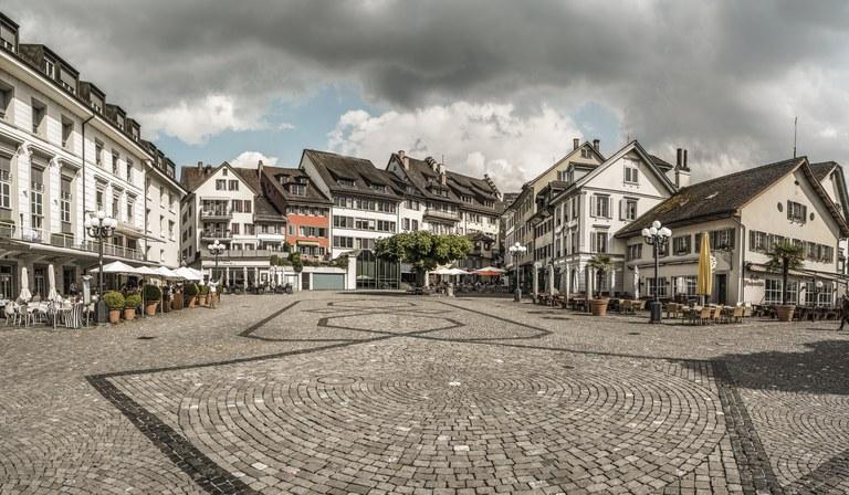 Zug Landsgemeindeplatz © Switzerland Tourism/Markus Buehler-Rasom