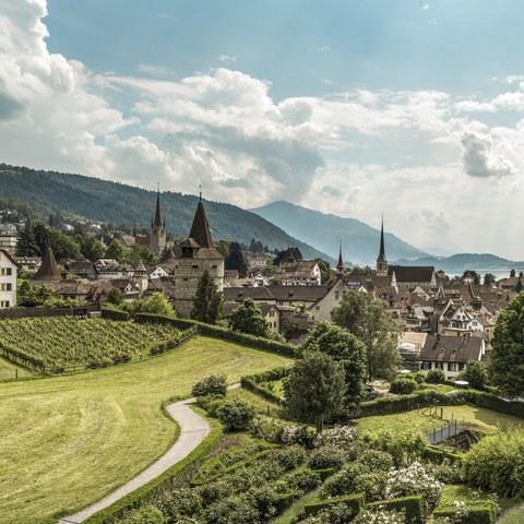 Zug Panorama © Switzerland Tourism/Markus Buehler-Rasom