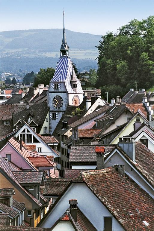 Zug Zytturm © Schweiz Tourismus/Stephan Engler