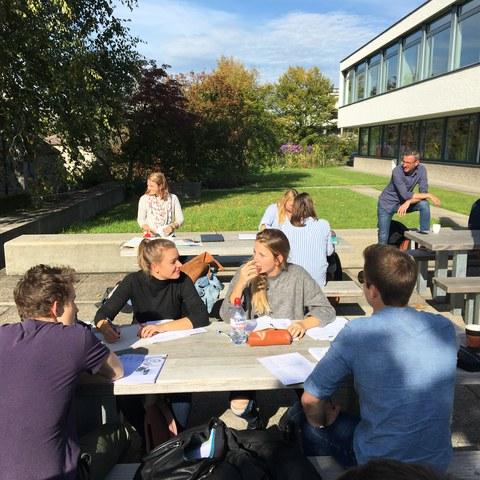Studierende PH Zug © PH Zug