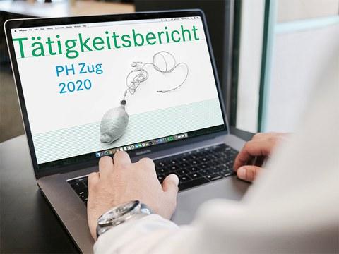 Tätigkeitsbericht 2020 PH Zug: vom Analogen ins Digitale