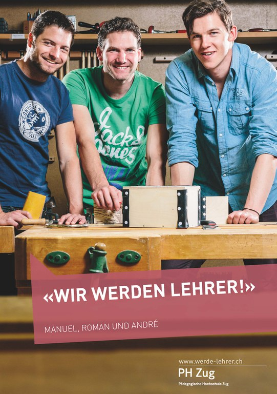 Kampagne «Werde Lehrer» 2013 1