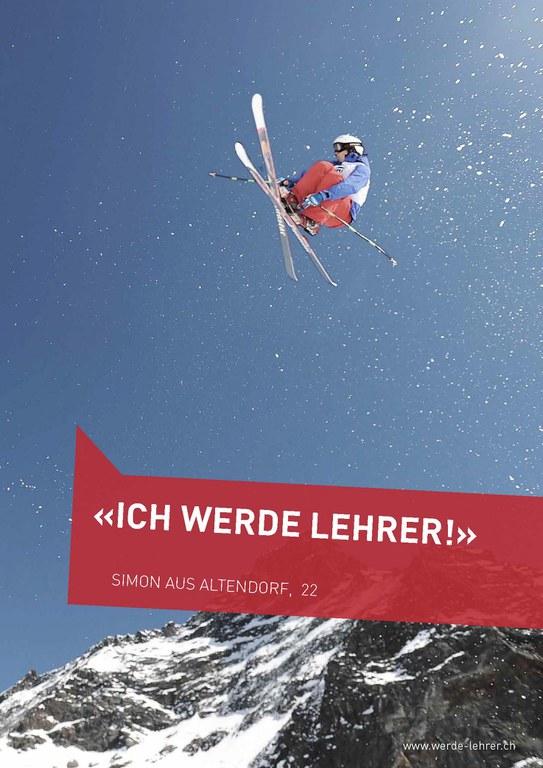 Kampagne «Werde Lehrer» 2011/12
