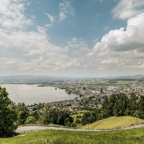 Zug Blasenberg-Panorama © Switzerland Tourism/Markus Buehler-Rasom