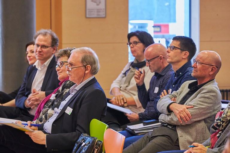 Gefesselte Zuhörer – Referat von Prof. Dr. Peter Dehnbostel