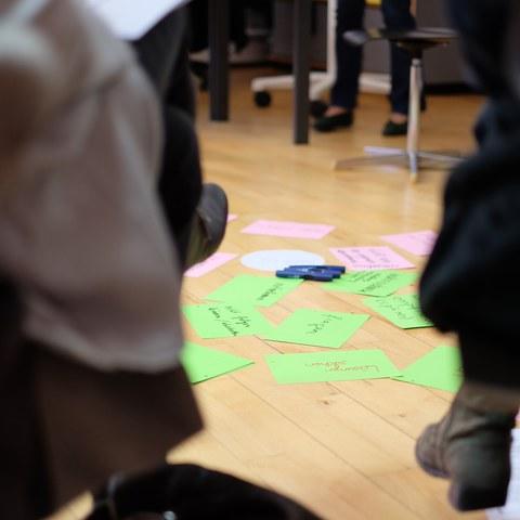 Austausch der Teilnehmenden im Workshop von Birgit Eriksson