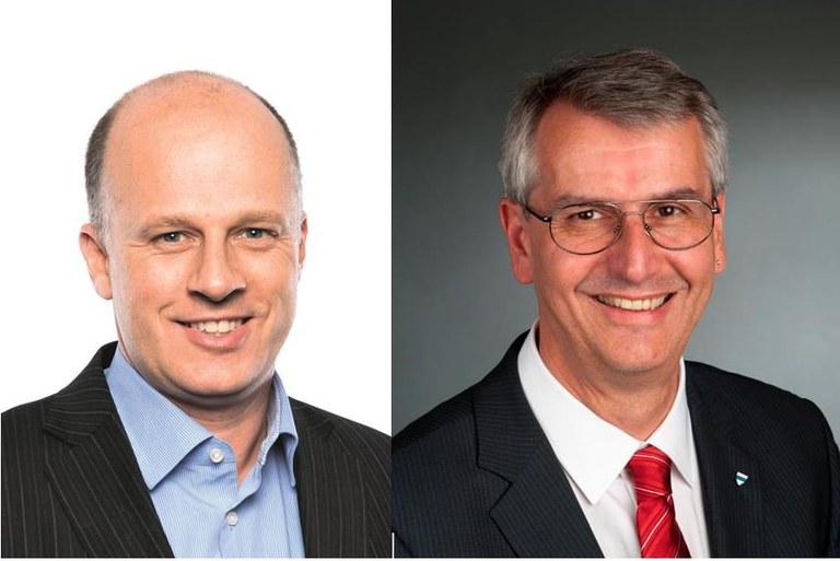 Peter Letter und Jürg Messmer, Kantonsräte