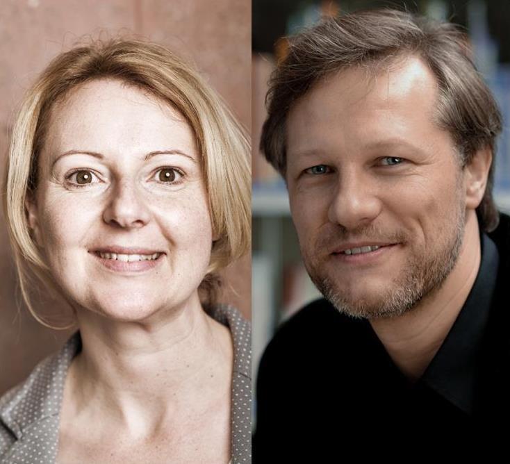 Stephan Huber und Nadine Schneider