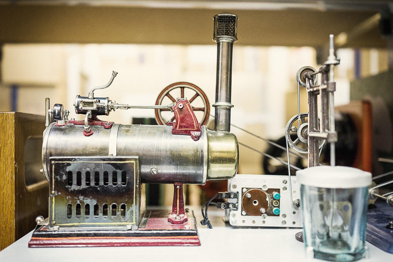 Dampfmaschine, Schulmuseum Bern