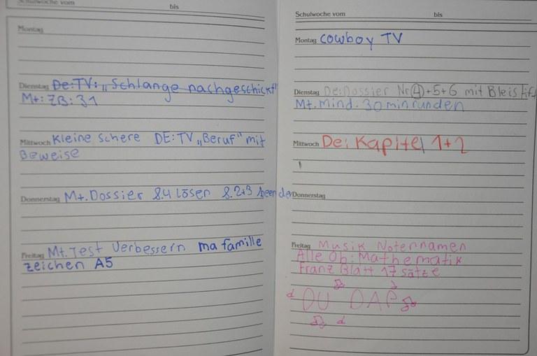 Hausaufgaben, VI