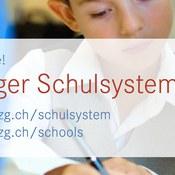 Infos zum Zuger Schulsystem online
