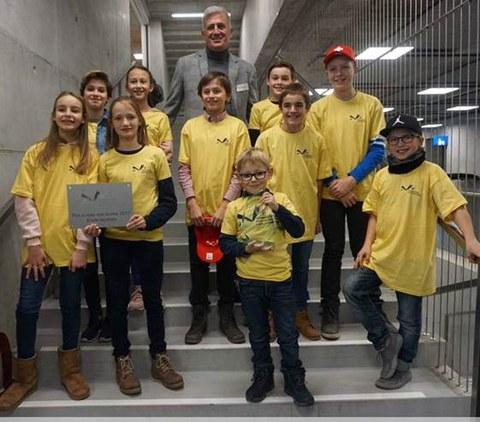 Schweizer Schulpreis für die Schulen Hünenberg