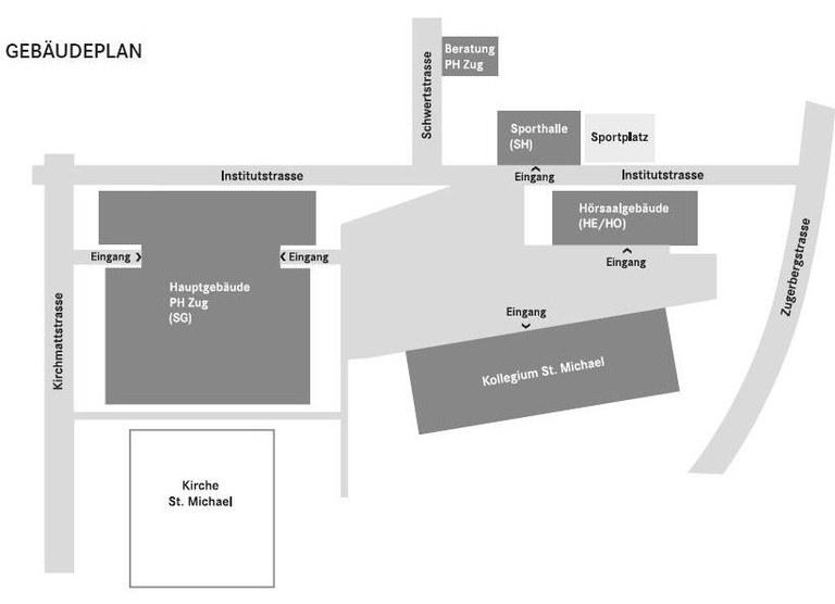 Beratungsstelle für Bildungsfachleute Lageplan