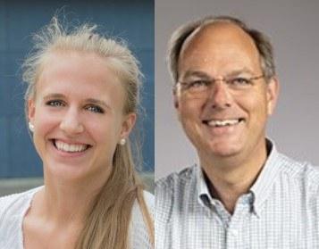 Stéphanie Weber und Henk Geuke