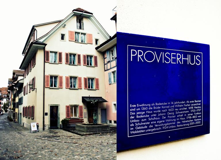 Provisorhaus Zuger Altstadt