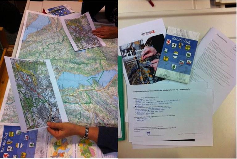 Fachgruppenberichte NMG Karte