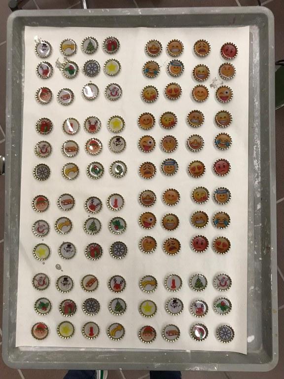 Reihenproduktion Bierdeckelmagnete