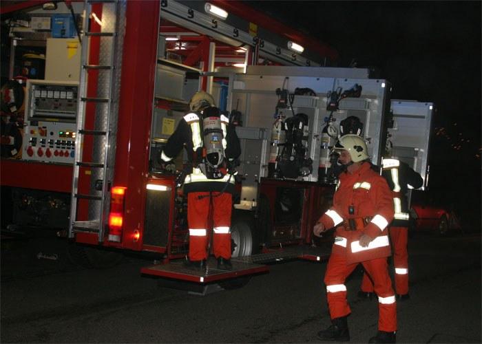 Kaminbrand Reinweidstrasse, Bild 1