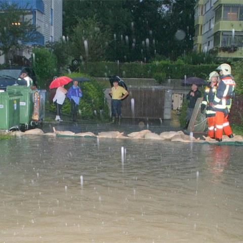 Unwetter in Hünenberg, Bild 1