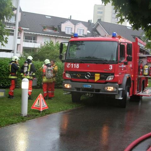 Wohnungsbrand Zythusmatt, Bild 1