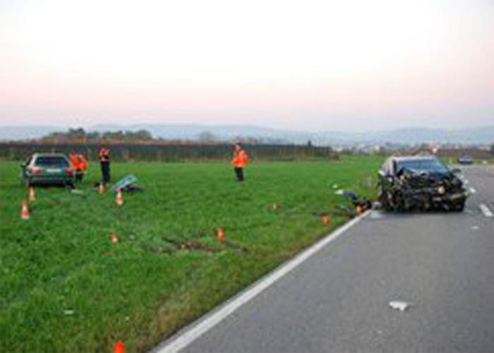 Einsatz Verkehrsunfall, 19. Oktober 2008