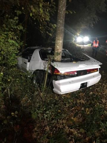 #121: Verkehrsunfall Drälikon