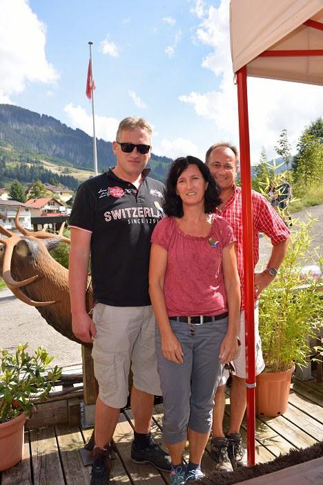 Die Siger unter sich - Andy, Gisela, Dani