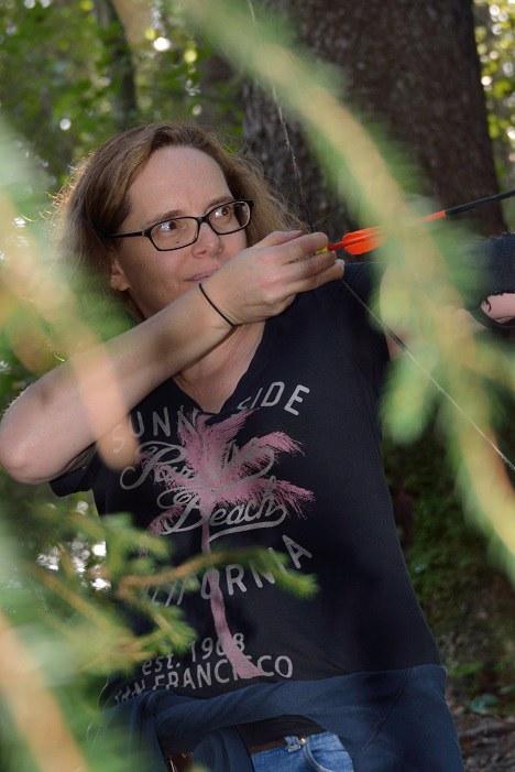 Brigitte hochkonzentriert