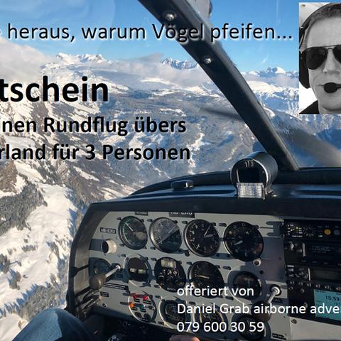 Rundflug-Gutschein