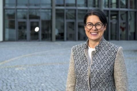 Renate Huwyler spricht über die Zukunft in Hünenberg