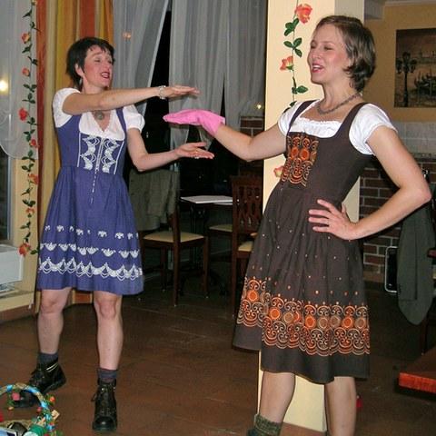 Carmen Oswald und Flavia Vasella