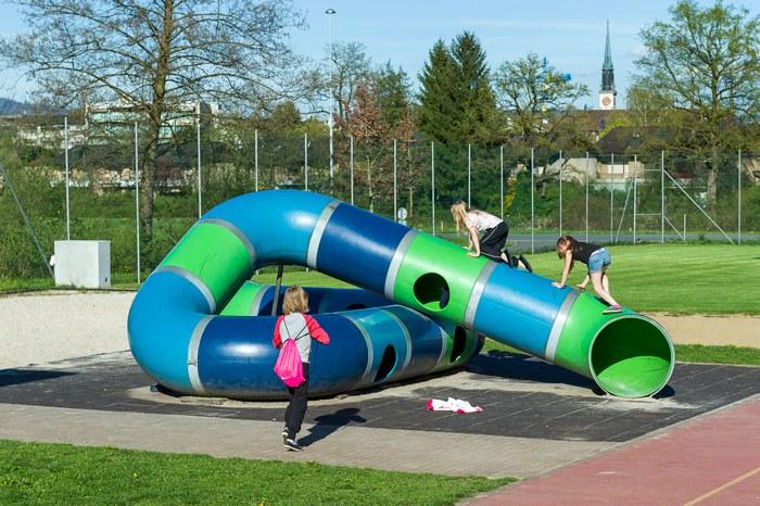 Spielplatz Schulhaus Kemmatten