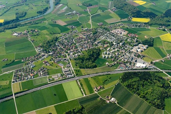 Hünenberg Dorf, Photo andreasbusslinger.ch