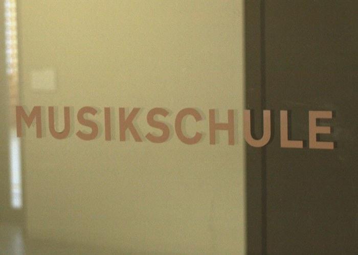 Eingang Musikschule