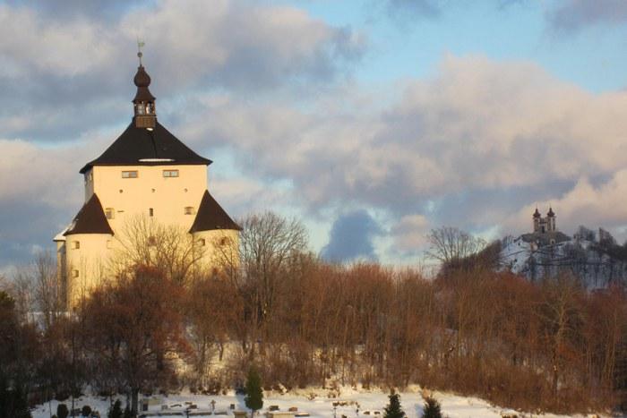 Banska Stiavnica im Winter